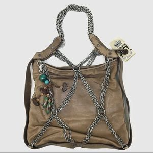 [Juicy Couture] Brown Purse w Chains, tags in tact